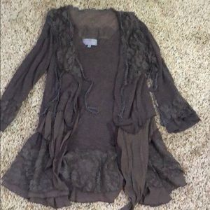 Women's Tunic with lace detail